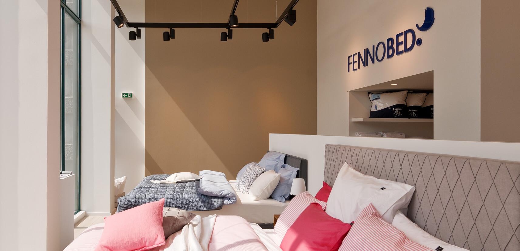 Fennobed Showroom Standort Hannover